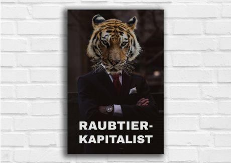 Raubtierkapitalist Löwe